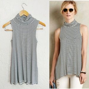 Puella {Anthropologie} Turtle Neck Tank Top